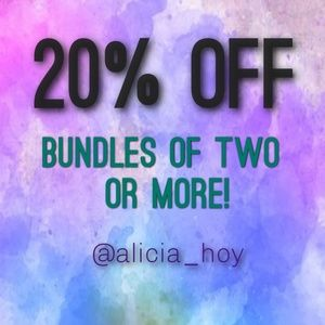 Other - 20% off bundles of two or more!